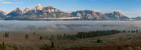 Morning Fog in Grand Teton