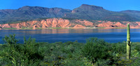 Roosevelt Lake - Panoramic