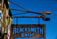 Old Blacksmith Sign