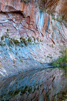 Reflections in Oak Creek Canyon