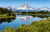 Mt. Moran Reflection - Grand Teton National Park